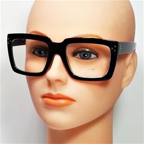 Square Oversize Glasses new oversized square black and tortoise frames clear lens
