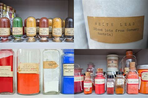La Pigment harvard s colorful library filled with 2 500 pigments