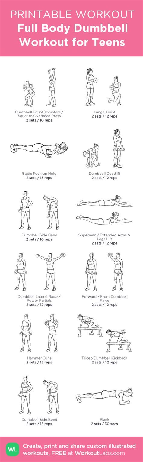 printable exercise routines home pinterest the world s catalog of ideas