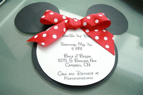 minnie mouse invitations template make your babys birthday invitations lil miss