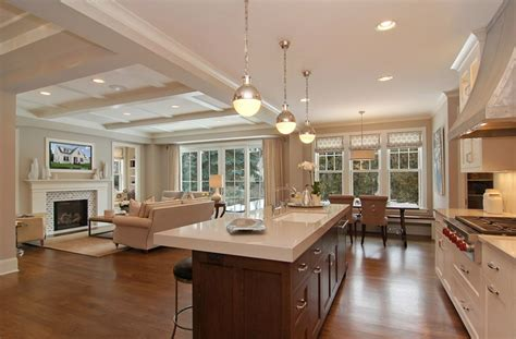 open concept kitchen dining room floor plans family home home bunch interior design ideas