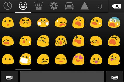 android emoticons list express yourself with the new colorful emoji in android