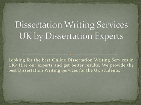 dissertation writing services ppt get dissertation writing services by uk experts
