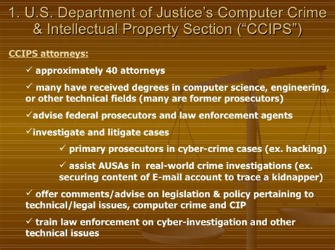 computer crime and intellectual property section cyber security the laws that protect your systems and