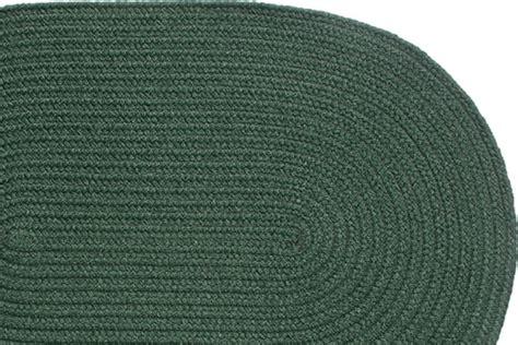 yankee pride braided rugs solid green braided rug