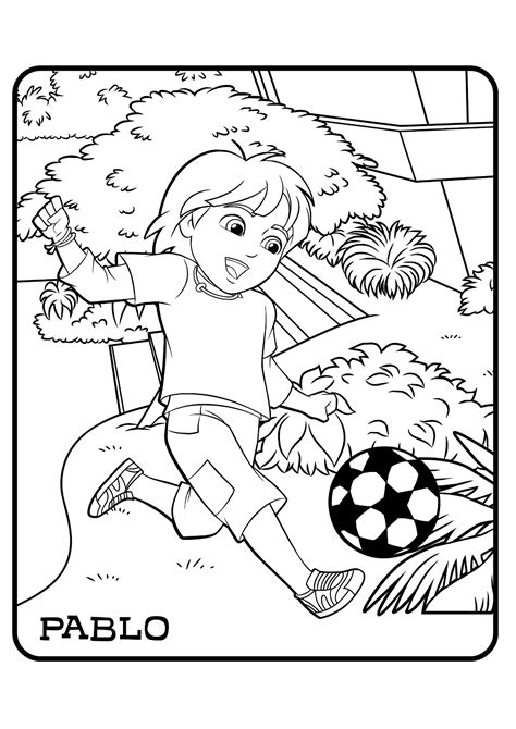 coloring book vs of pablo and friends coloring pages to and print for free