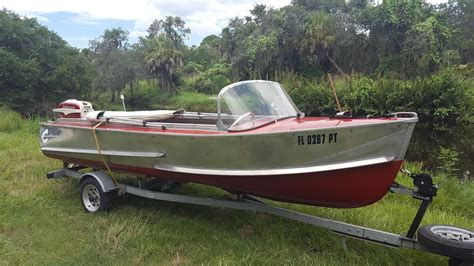 crestliner aluminum boats vintage aluminum boats boats for sale new and used boats