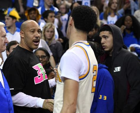 Who Did Lavar Play For In The Mba lavar tells story of how lonzo learned his had