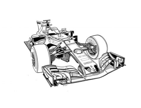 Formula 1 Sketches by Formula 1 Drawing Www Pixshark Images
