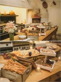 Rustic Wedding Buffet Table Rustic Food Station Food Weddingreception Weddingchicks