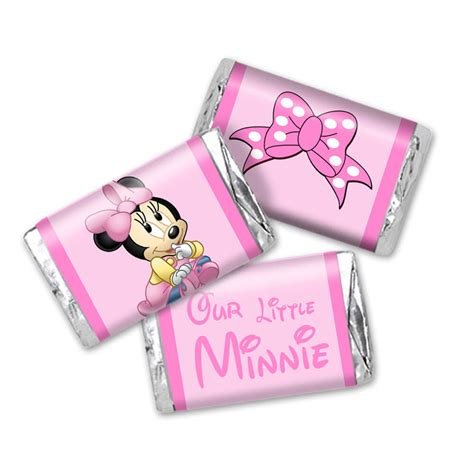 Minnie Mouse Baby Shower Favors Ideas by Disney Baby Shower Ideas Baby Ideas