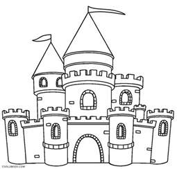 castle coloring pages printable castle coloring pages for cool2bkids