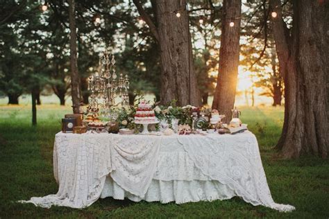 planning an outdoor wedding at home an enchanted evening a style guide to planning an