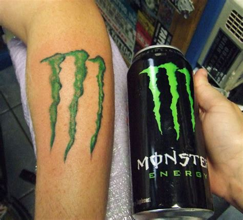 monster energy tattoo s ruin tattoos