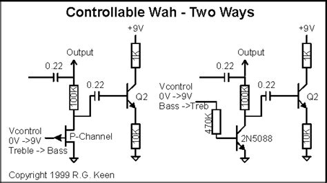 inductorless wah musik indonesia the technology of wah pedals