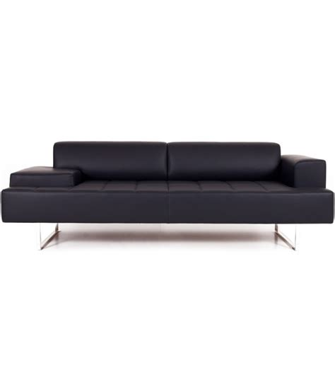 poltrona frau sofa quadra 2 seater sofa asymmetrical poltrona frau milia shop