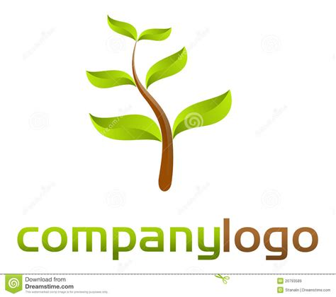 free nature logo design nature logo vector royalty free stock images image