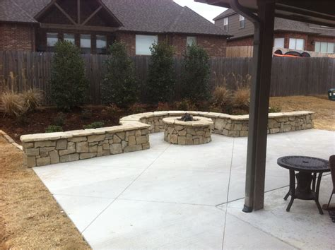 tulsa landscape retaining walls landscape lighting in