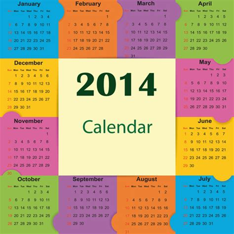 best vector design elements best calendars14 design elements vector free vector in