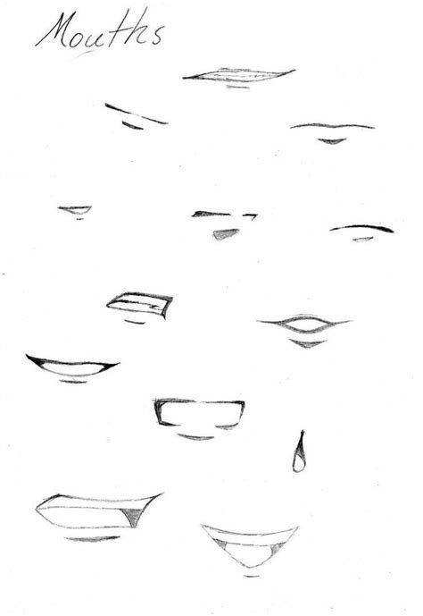 Drawing Mouths by Best 25 Drawing Ideas On How To Draw