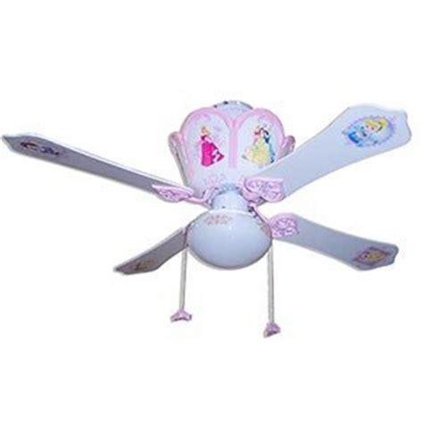 Surprise Your Kids With The Gentle Breeze Of Princess Disney Princess Ceiling Fan
