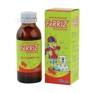 Vitamin Ferriz Jual Beli Ferriz Sirup 100ml K24klik