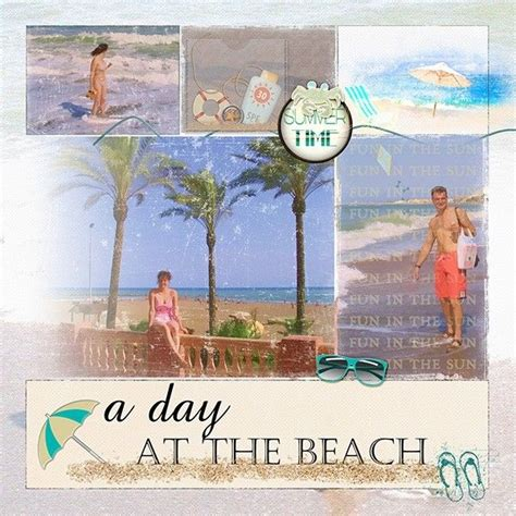 scrapbook layout beach 450 best scrapbook pages beach images on pinterest