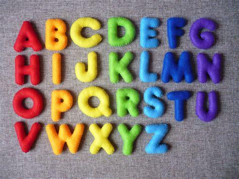 Pattern For Felt Letters | pdf pattern stuffed felt alphabet felt english alphabet