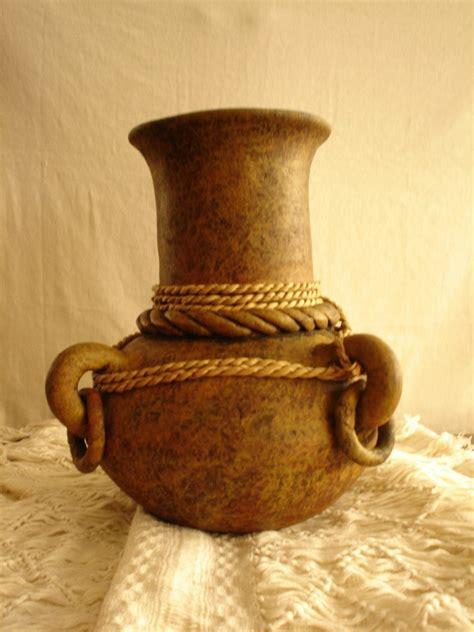 imagenes de vasijas egipcias vasija de barro rustico pinterest paintings