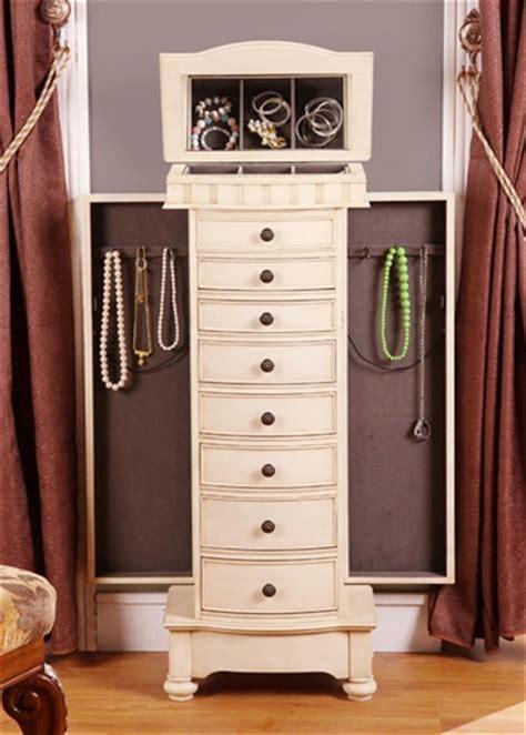 free standing jewellery cabinet antique beige floor standing jewelry box cabinet