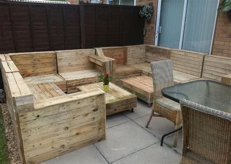 Wood Pallet Patio Furniture Pallet Patio Furniture Ideas Pallet Wood Projects