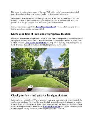 late summer lawn care ppt new jersey lawn powerpoint presentation id 1908196