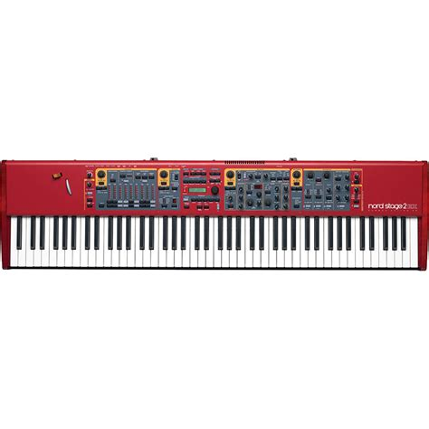 Keyboard Nord Stage 2 Nord Stage 2 Ex 88 Keyboard Nstage2 Ex 88 B H Photo