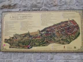 buda map hungary castles map images