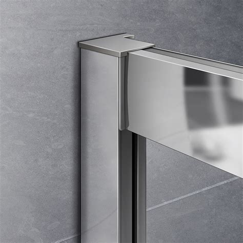 Quadrant Shower Door Seals Aica Offset Walk In Quadrant Shower Enclosure Corner Cubicle 6mm Glass Door Tray Ebay
