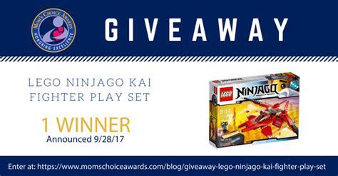 Sweepstakes Advertising - giveaway lego ninjago kai fighter play set mom s choice awards