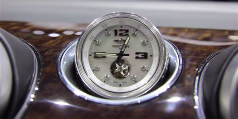 bentley breitling clock the bentley bentayga s optional dash clock costs 160 000