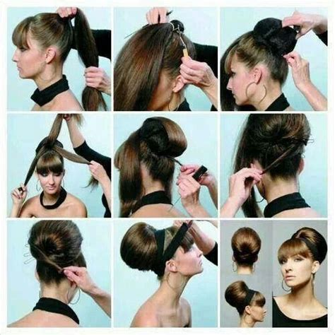 fashion forward hair up do hair updo step by step google search easy hair