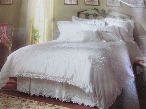 white eyelet comforter vintage 3 piece white battenburg lace twin duvet cover