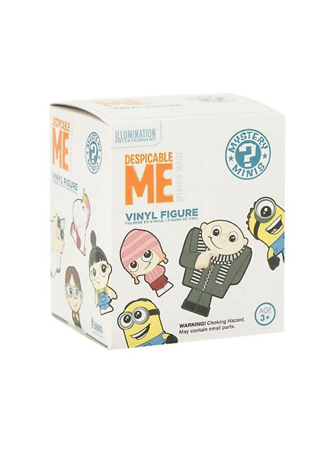 funko pop vinyl figures mystery minis hot topic funko despicable me mystery minis blind box vinyl figure