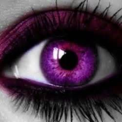 purple color contacts purple eye gorgeous colorful