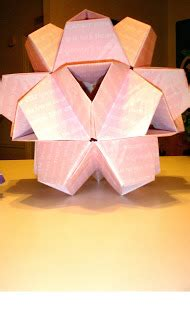 Virus Origami - the crafting of the snark origami virus