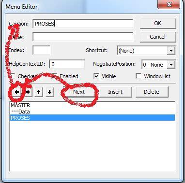 membuat hyperlink di vb6 membuat menu di ms visual basic video tutorial hendri