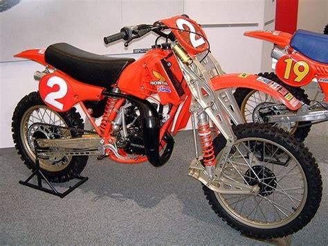 motocross push bike honda cr 125 m 1981 motocross