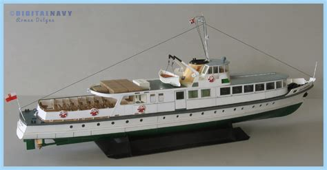 Boat Paper Craft - lilla weneda premium paper models digitalnavy