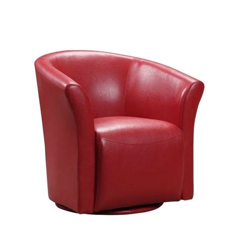 red swivel armchair elements rocket swivel chair in red urt891100swca
