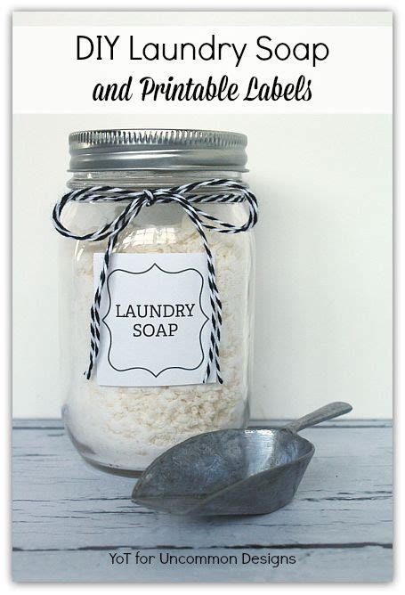 printable laundry labels diy laundry soap and free printable labels free