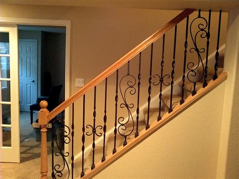 banisters and spindles iron balusters and railings denver colorado parker