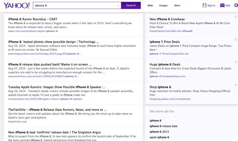 yahoo new layout 2014 monthly industry roundup september 2014