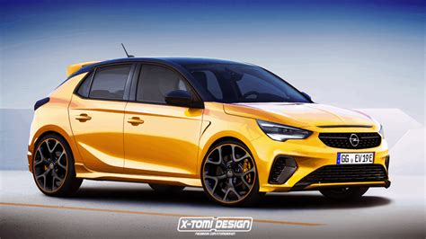 opel ecorsa 2020 projection new opel corsa 2020 in gsi and opc versions